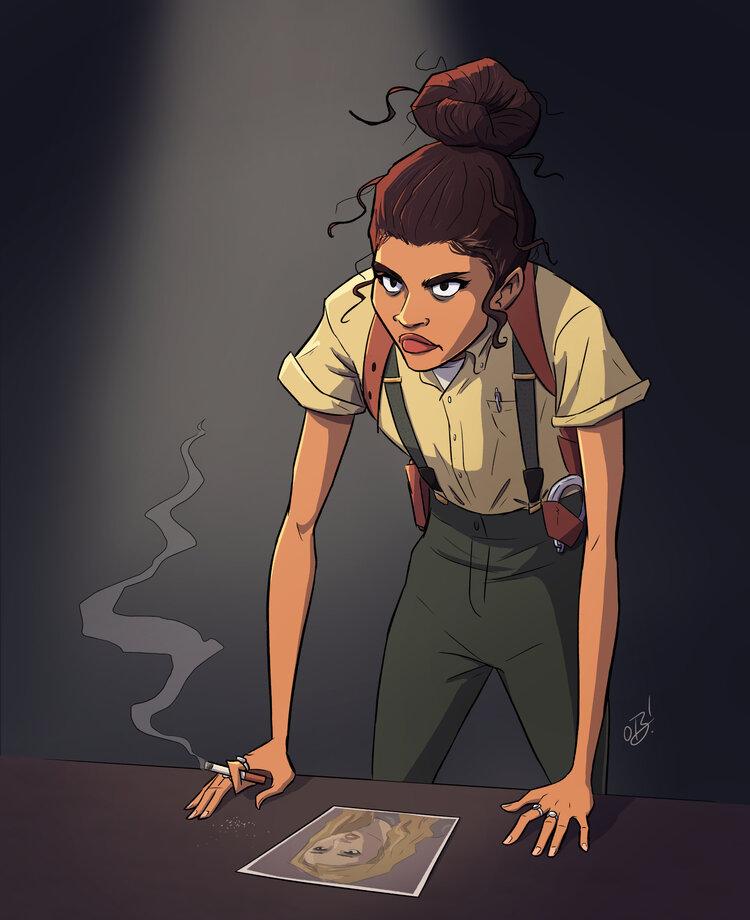 Zendaya as Detective Rue
